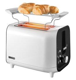 Unold Unold 38410 Broodrooster Wit/Zwart