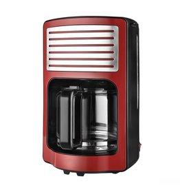 Efbe-Schott Efbe-Schott CM2500R Retro Koffiezetapparaat 1000W 1.8L Rood/Chroom/RVS