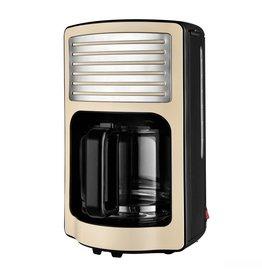 Efbe-Schott Efbe-Schott CM2500 Retro Koffiezetapparaat 1000W 1.8L Crème/Chroom/RVS