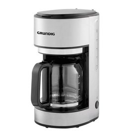 Grundig Grundig KM5620 Koffiezetapparaat 1000W 1.25L RVS/Zwart