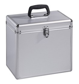 Hama Hama LP-koffer 50 Alu-look Zilver