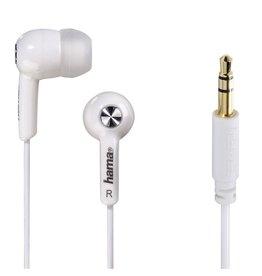 Hama Hama In-ear-stereo-oortelefoon Basic4Music Wit