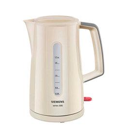 Siemens Siemens TW3A0107 Snoerloze Waterkoker 2400W 1.7L Crème