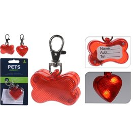 Basic Pets Collection Honden Halsband LED-Lamp Assorti