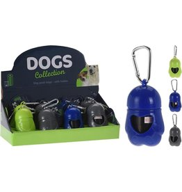 Basic Dogs Collection Honden Zakjes met Houder 20 Stuks Assorti