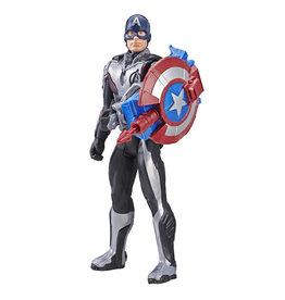 Hasbro Hasbro Marvel Avengers Titan Hero Series Power FX Captain America met Accessoire en Geluid