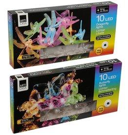 Arti Casa Arti Casa ED03631 Lichtslinger Vlinders of Libelles 10 Leds Assorti