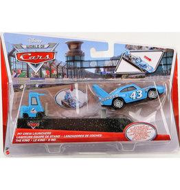 Disney Cars Cars Pit Crew Set Auto Assorti