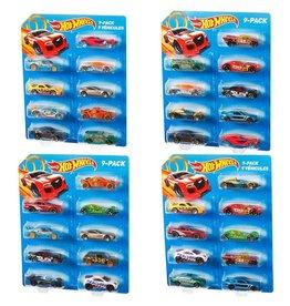 Mattel Hot Wheels Auto's 9 Stuks