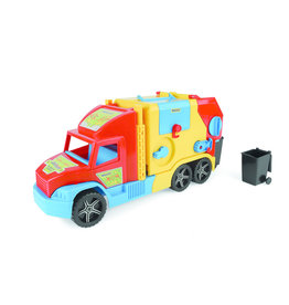 Wader Wader Super Truck Vuilniswagen