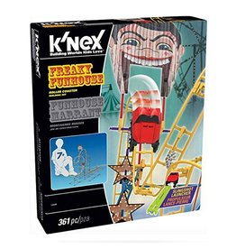 Knex Knex Freaky Funhouse Roller Coaster