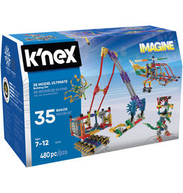 Knex Knex Building Sets - Builder Basics 35 Model Set-Refresh