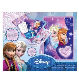 Disney Frozen Disney Frozen Geheim Dagboek + Herinneringsdoos + Schrijfset
