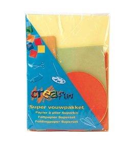 Creafun Creafun Vouwblaadjes Supervouwpakket