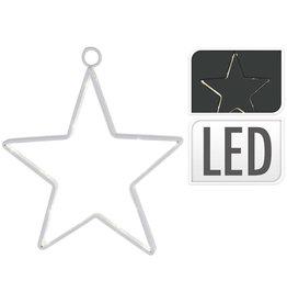 S.I.A. S.I.A. Batterij Kerstverlichting Ster 14cm 15 LED Lampjes