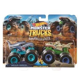 Mattel Mattel Hot Wheels Monster Trucks Mega Wrex en Leopard Shark