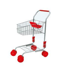 Basic Winkelwagen Rood Metaal