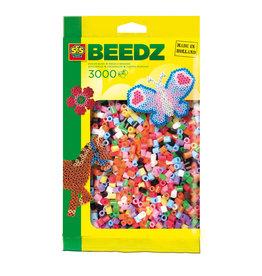 SES Creative SES Creative Beedz Strijkkralen Multicolor 3000 Stuks