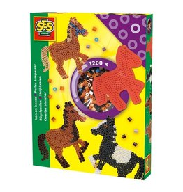 SES Creative SES Creative Strijkkralen Paarden 1200 Stuks