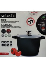 Satoshi Satoshi - Kookpan - 28x20cm - Gietaluminium met afneembare handvatten