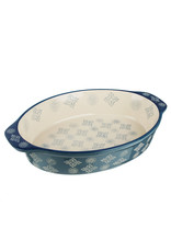 Millimi Millimi  - ovale ovenschaal - 1500ML - donkerblauw