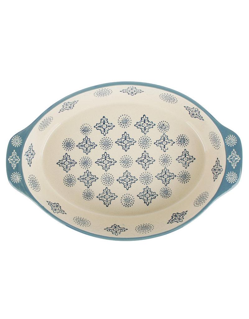 Millimi Millimi  - ovale ovenschaal - 1500ML - blauw