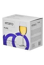 Krosno Krosno witte wijnglazen - 6 stuks - 250ml