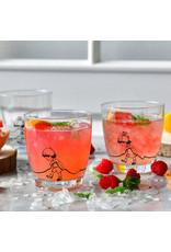 Krosno Krosno drinkglazen Hans en Grietje design - 2 stuks - 370 ml