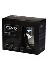 Krosno Krosno drinkglazen origami design - set van 2  - 450 ml
