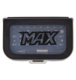 Max MAX set bitjes 32 stuks met quick release adapter