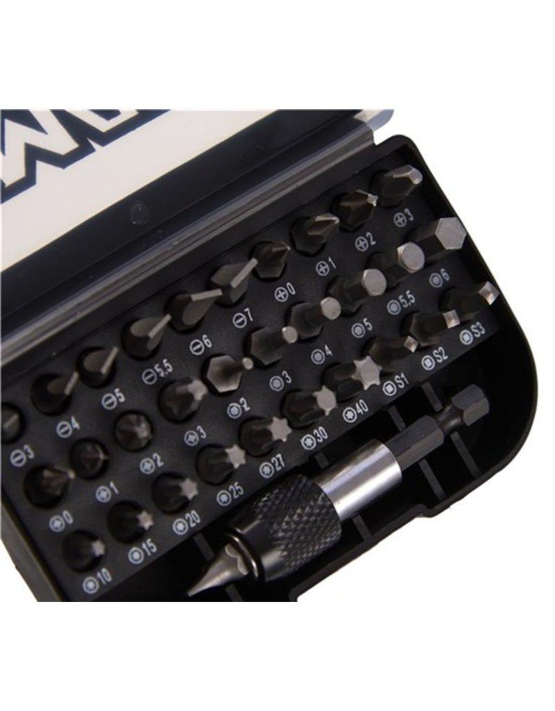 Max Max set bitjes - 32 stuks - met quick release adapter