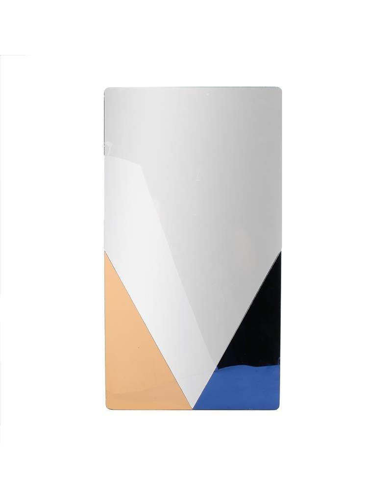 Home deco factory vierkante arty spiegel - 50 x 27