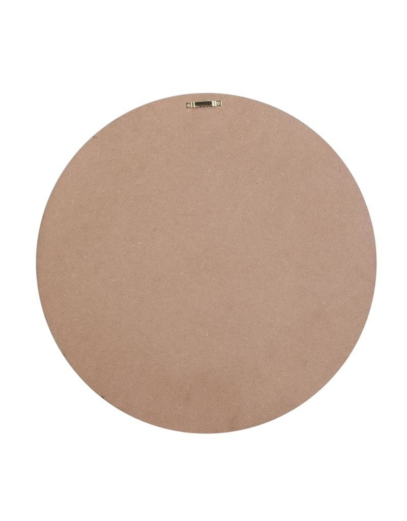 Home deco factory ronde arty spiegel - 40 cm