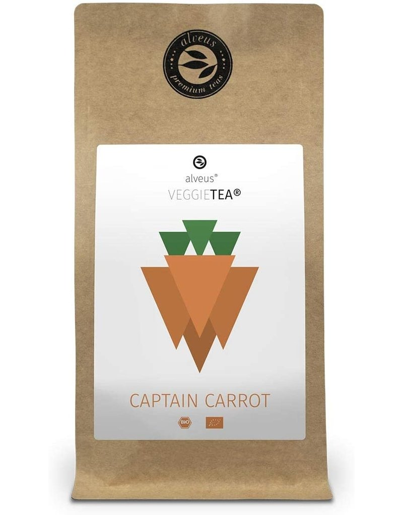 Alveus Captain Carrot BIO thee - wortel smaak (100 g)