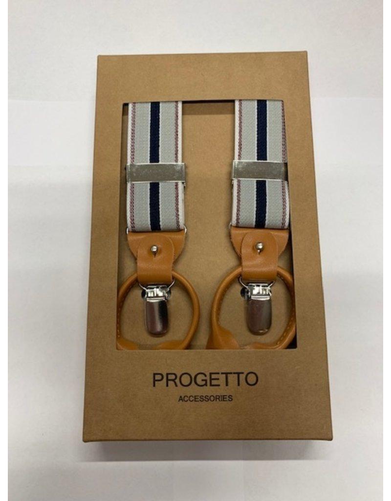 progetto Bretels politie brandweer, grijs, blauw