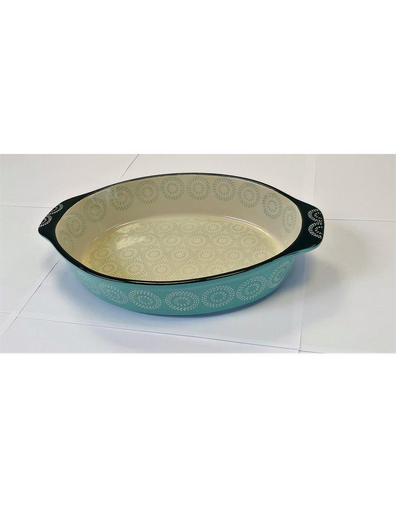 Millimi Millimi  - ovale ovenschaal - 1500ML - lichtgroen