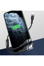 Baseus Baseus usb / usb-c naar iphone kabel met fastcharge
