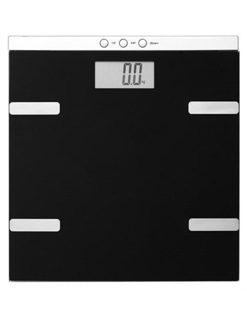 DAY Personenweegschaal digitaal - met lichaamsanalyse