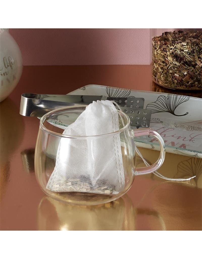 Cook Concept herbuikbaar theezakje 5 stuks - 100% katoen - thee ei