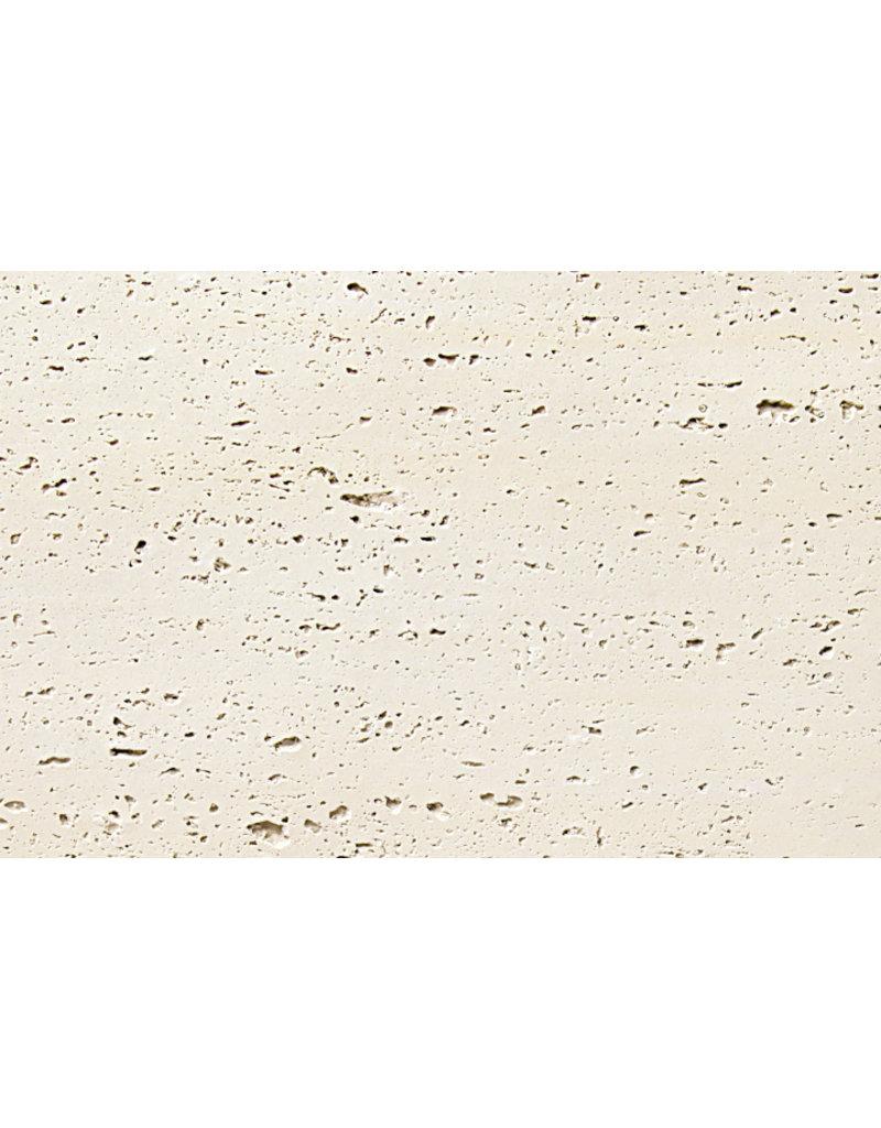Phomi Phomi Travertine wandbekleding - flexibele tegel - gebroken wit - 10.08 m2