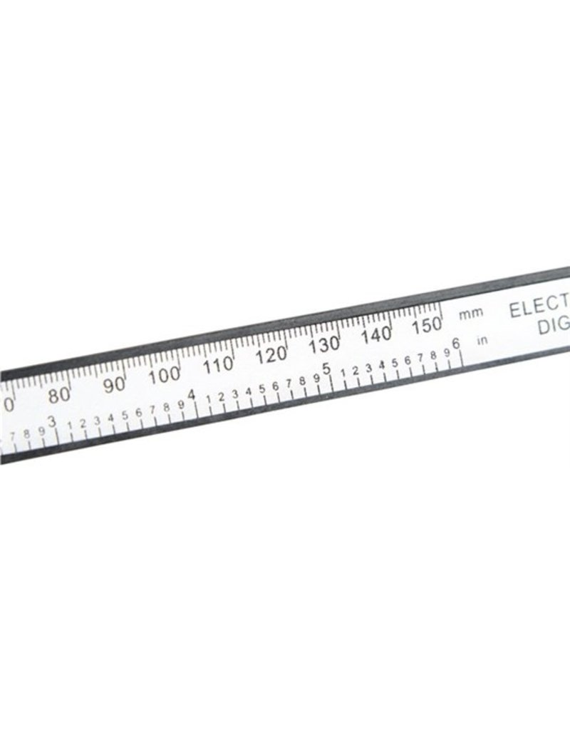 Max MAX digitale schuifmaat - 150 mm - inclusief batterij
