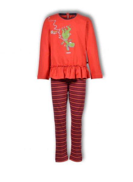 Woody Girls-Women pyjamas, red
