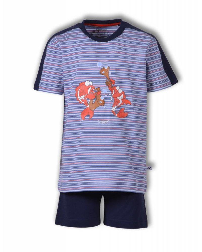 Woody Jongens-heren pyjama, S stripe koi gestreept