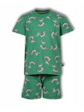 Woody Unisex pyjama, aop s zebra all-over print