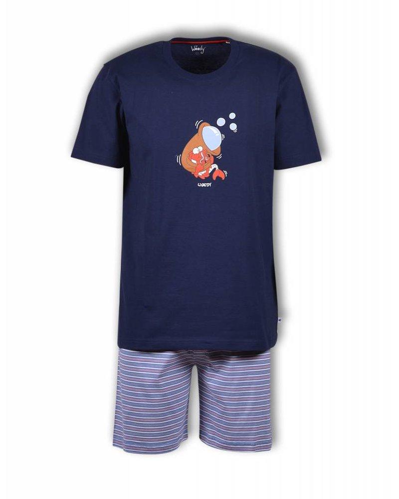 Woody Unisex Pyjama – Black Iris
