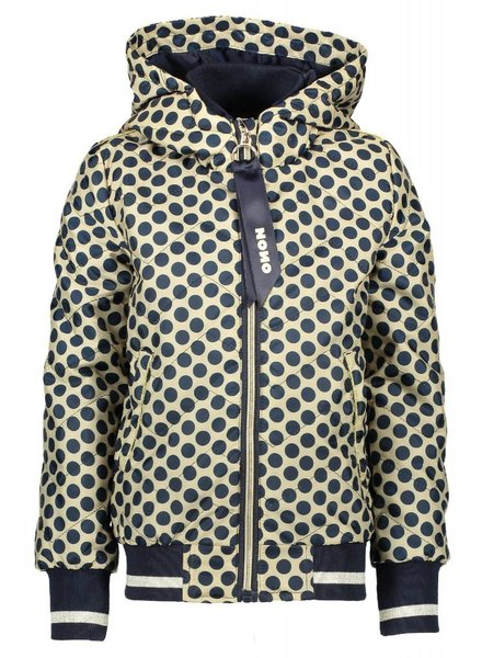 NoNo Bye B bomber jacket with dots