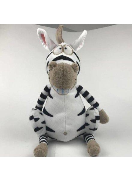 Woody Knuffel groot zebra