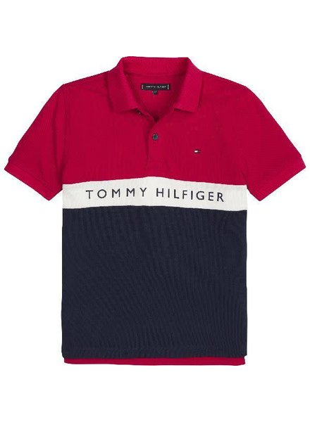 Tommy Hilfiger Essential colorblock stripe polo