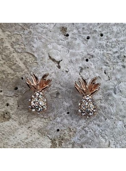 Miracles Earring pineapple gold