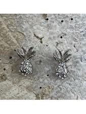Miracles Earring pineapple silver